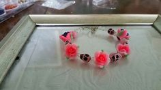 Pink skull& ROSES