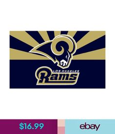 e4efad9d15f  13.59 - Los Angeles Rams Flag Banner 3X5 Feet  ebay  Collectibles