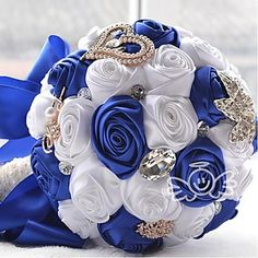 Wedding+Flowers+Round+Bouquets+–+USD+$+51.99