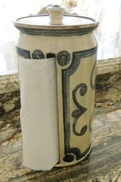 Unique Paper Towel Holders This Paper Towel Holder Design Is Unique To Paxis Place Pottery