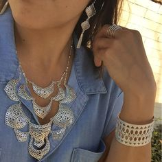 Springing into SPRING in silver❤️ #stelladotstyle