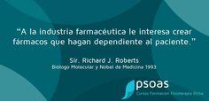 #farmacia #medicamentos #premionobel #psoaselche www.psoas.es