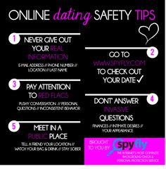 dating site safety tips