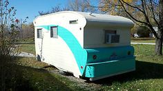1960 Mayfair Vintage Travel Trailer