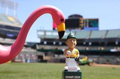 BABY-FACED. DOMINANT. ENERGY EFFICIENT. Sonny Gray Solar Powered Gnome, 6/20/2015. #GreenCollar