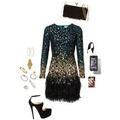 Like my look? Tag someone who would wear it. What To Wear Today, How To Wear, New Years Eve Outfits, I Love Fashion, Latest Fashion Trends, Polyvore Fashion, Wigs, Style Inspiration, Clothes