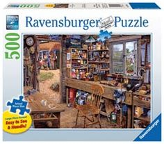 Dad's Shed Ravensburger 500 piece jigsaw puzzle