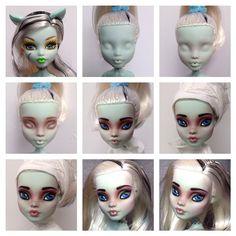 Frankie Monster High Custom Doll by @erregiro
