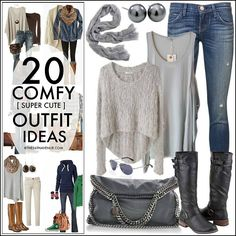 Outfits On Pinterest Polyvore Comfy Fall Outfits And