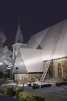 Christmas Church, Finland  Does anyone know where in Finland??