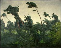 The Wind, Felix Vallotton 1865 -1925 Oil on canvas