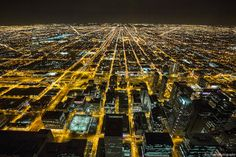 """This mesmerizing time-lapse film, by Eric Hines, captures the essence of the """"Windy City"""". Great Photos, Cool Pictures, Beautiful Pictures, Beautiful Things, Cities, Chicago Skyline, Nature Images, Park City, City Photo"""