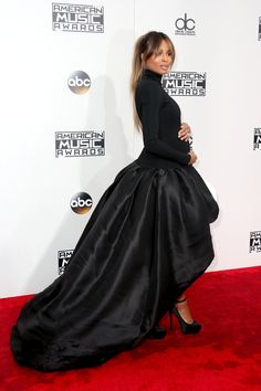 Ciara in a gown that all envy