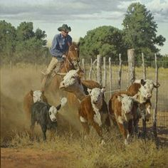 Hail And Farewell To Cowboy Artist Bill Owen