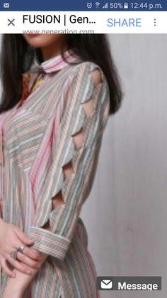 Neckline Designs, Dress Neck Designs, Sleeve Designs, Blouse Designs, Kurti Sleeves Design, Sleeves Designs For Dresses, Kurta Neck Design, Churidar Neck Designs, Kurta Designs Women