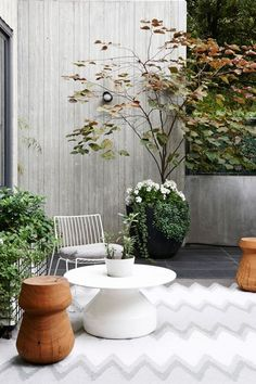 Melbourne House - The Design Files Melbourne Apartment, Zeitgenössisches Apartment, Melbourne House, Outdoor Rooms, Outdoor Gardens, Outdoor Living, Outdoor Decor, Indoor Outdoor, Outdoor Retreat
