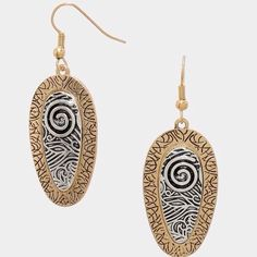 """❗️1 Left❗️Tribal, Festival Metal Disc Earrings Boho style tribal, festival metal disc earrings.  Size:  .75"""" W, 2"""" H.  Photos courtesy of Farah Jewelry.  Price is firm unless bundled.  😊 Farah Jewelry Jewelry Earrings"""