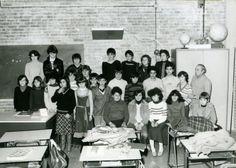 """classe 2C, a.s. 1978/79, Scuola media annessa all'Istituto Statale d'Arte """"Stagio Stagi"""" di Pietrasanta. Archivio sotografico Liceo artistico """"S.Stagi"""""""