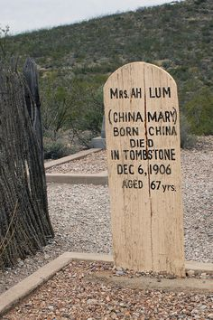 Boothill Graveyard in Tombstone, Arizona by Fritz Liess ~ BFD Old West Outlaws, Arizona History, Famous Tombstones, Tombstone Arizona, Cemetery Decorations, Old Cemeteries, Cemetery Art, Asian History, Ghost Towns