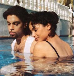 Prince and Mayte This seems like a Prayerful, Intimate moment between Husband…