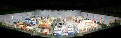 Hier ein Panoramabild aus der Messehalle 1 der Oberfranken Ausstellung in Hof! Wir sind am Stand 117! Na, wer findet uns...???