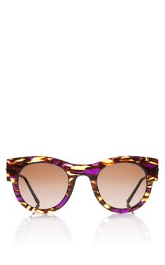BY THEIRRY LASRY  SEE DETAILS HERE: Punchy Sunglasses In Purple Tortoise
