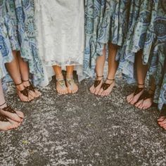 Learn how to make your own bohemian barefoot sandals!
