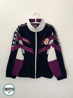 West Ham United Fc Official Soccer Gift Boys Kids Retro Track Top Jacket