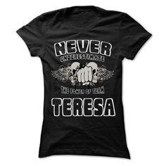 Click here: https://www.sunfrog.com/LifeStyle/Never-Underestimate-The-Power-Of-Team-TERESA--99-Cool-Team-Shirt-.html?s=yue73ss8?7833 Never Underestimate The Power Of Team TERESA - 99 Cool Team Shirt !