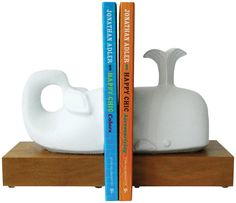 Whale Bookends - casa.com