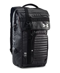 Under Armour VX2T Backpack Black One Size * Check this awesome product by going to the link at the image.