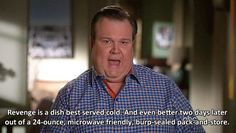 """He knows about revenge. 