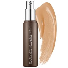 Becca Ultimate Coverage Foundation The lightweight, breathable formula also boasts a higher-than-average percentage of water, which keeps it from caking or settling into fine lines.