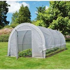 Serre tunnel maraîchère Edenia 18 m² - Nortene - Avis et Prix Serre Tunnel, Outdoor Gear, Tent, 18th, Anti Uv, Boutique, Gardens, Vegetable Garden, Houses