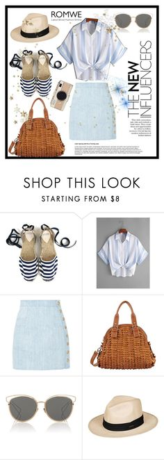 """Untitled #590"" by beautiful-723 ❤ liked on Polyvore featuring Balmain, Mellow World, Christian Dior, Roxy and Kate Spade"