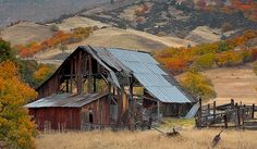My grandmother was fascinated by all the old falling down barns in Oregon.