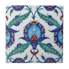 TR005 Turkish Reproduction Ceramic Tile