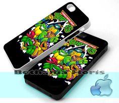 Teenage Mutant Ninja Turtles  Print on by BethaniaFloris on Etsy, $15.99