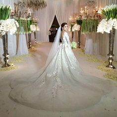 Destination Wedding Dresses Wedding Bolero Arabic Luxury Long Sleeves Wedding Dresses Sheer Lace Beaded Robe De Mariage Vintage Trouwjurk Bridal Vestido Casamento Boda Ball Gown Wedding Dresses With Lace From Lily_weddingonline, $448.47| Dhgate.Com