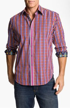 Robert Graham 'Conquest' Sport Shirt  at Nordstrom