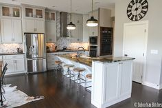 Rustic Glam Kitchen Love This Kitchen Amp Dining Room