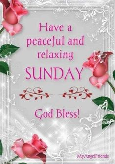 Have a peaceful and relaxing sunday, god bless sunday sunday quotes sunday blessings sunday images Blessed Sunday Morning, Sunday Morning Quotes, Sunday Wishes, Have A Blessed Sunday, Sunday Quotes Funny, Morning Blessings, Good Morning Messages, Good Morning Greetings, Good Morning Wishes