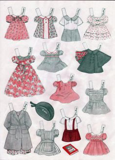 Play House Paper Dolls * 1500 free paper dolls at Arielle Gabriel's The International Paper Doll Society and also free China and Japan paper dolls at The China Adventures of Arielle Gabriel *