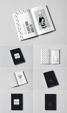 Classic Book Mockup Design psd mockups, product mockups, presentation mockups, mockup templates