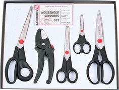Kitchen shears are extremely strong scissors which are designed specifically for use in the kitchen. The design of a traditional set of scissors is altered slightly for kitchen shears to create a stronger fulcrum which can snap through the breastbone of a chicken just as easily as it can snip open a package of rice. A good quality pair of kitchen shears is a useful thing to have around the kitchen, and many kitchen supply stores stock this basic kitchen tool.