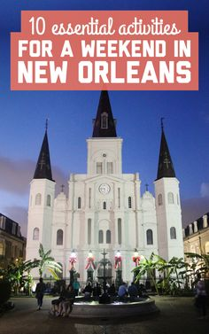 10 essential activities for a weekend in New Orleans / A Globe Well Travelled Weekend In New Orleans, New Orleans Vacation, Asia Travel, Travel Usa, Hiking In Florida, New Orleans Activities, Us Road Trip, Girls Weekend, Travel Essentials