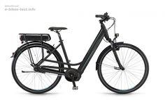 Das E Bike Winora Y380F Einrohr 8 G Nexus FL 16 schwarz matt hier auf E-Bikes-Test.info vorgestellt. Weitere Details zu diesem Bike auf unserer Webseite.