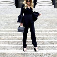 Wearing all black doesn't have to be boring, just take a cue from these NYC trendsetters.