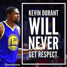 regram @yournbaopinions  I dont know about never get respect but the whole twitter thing didnt help at all. -DJW  Agree or Disagree?  DM me your NBA opinions!  Have a great day! #nba #basketball #ballislife #warriors #cavs #lebronjames #stephcurry #kd #kawhileonard #russellwestbrook #follow #yno #baller #kyrie #isaiahthomas #celtics #lakers #ynogang #opinionsquad #kot4q #ballers http://ift.tt/2wIWtzp