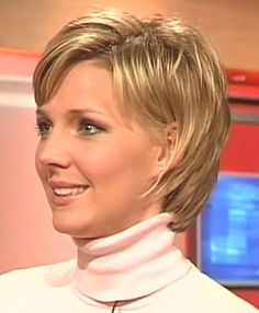 short medium hairstyles for brown hair with highlights over 50 - Google Search